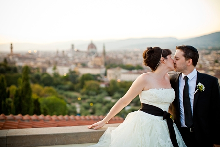 black and white wedding italy 2