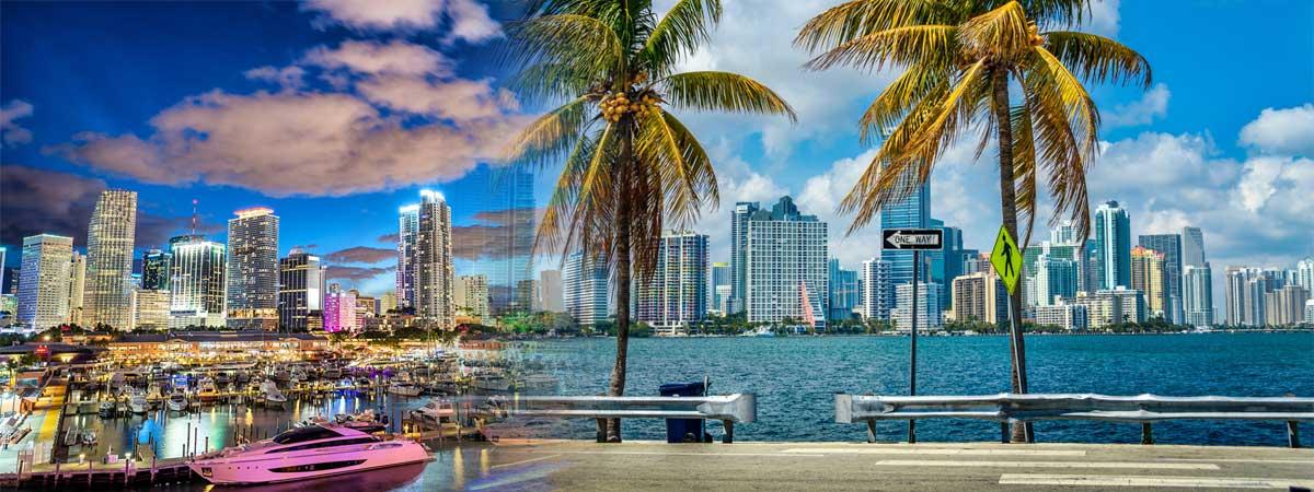 Атлантика и солнечная Флорида